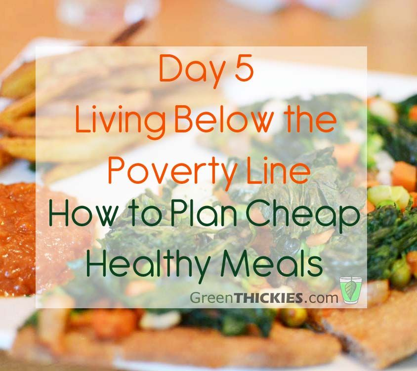 Day 5 living below the line how to plan cheap healthy