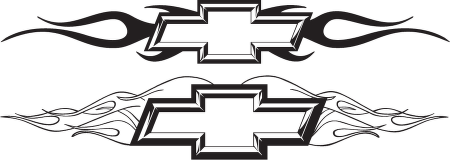 Chevy Chisiled With Flames Logo Vector Download In Eps Vector