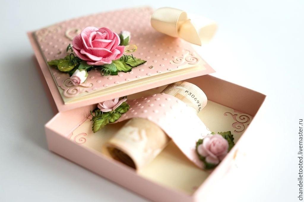 Коробка для открыток, юбилеем