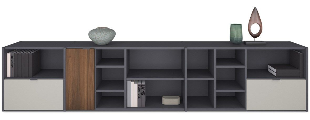 Copenhagen Wall Unit, Bookcases - BoConcept Furniture Sydney