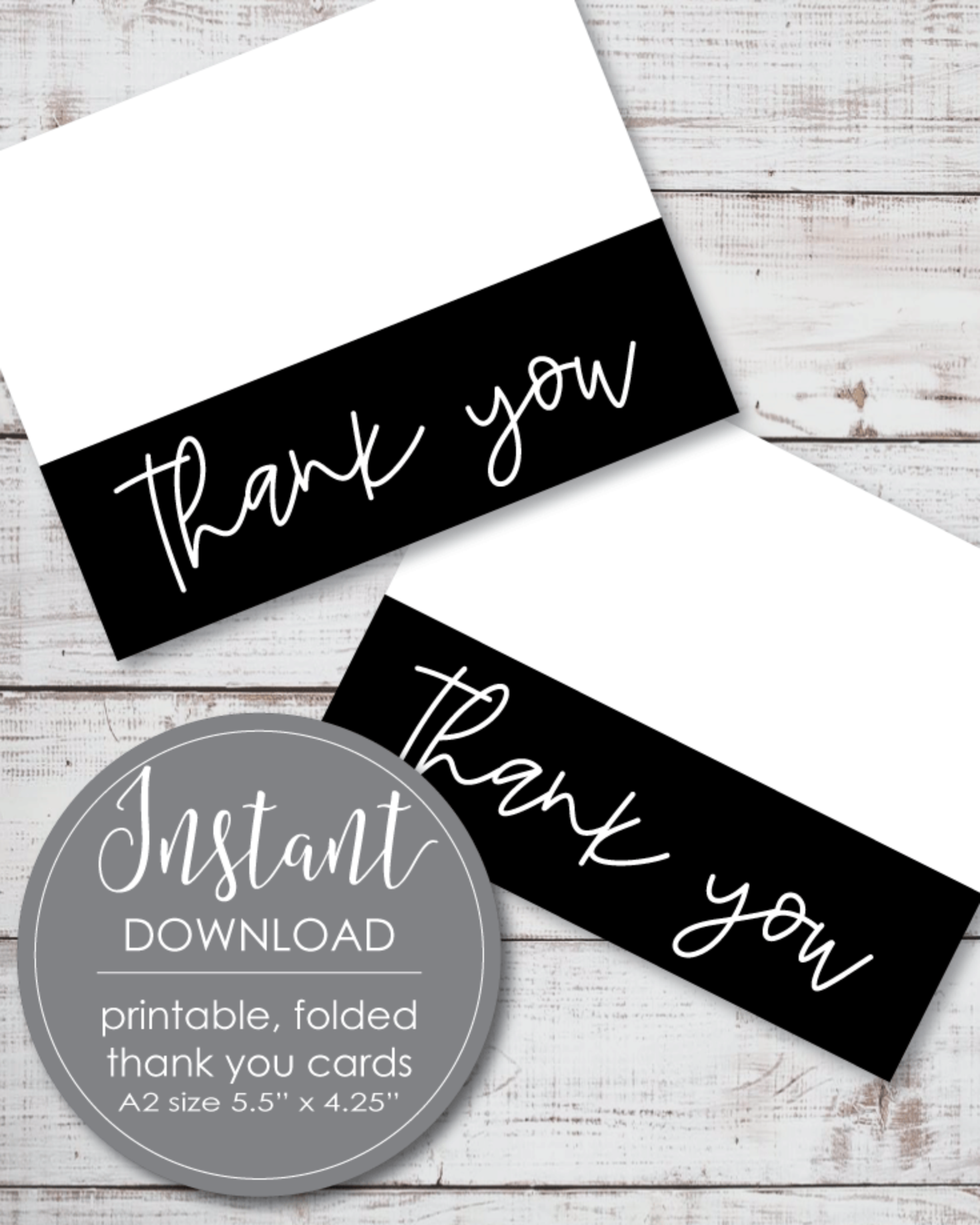 Instant download BBQ shower Digital Printable card 3,5x5inch. Folded Thank you cards  DIY card