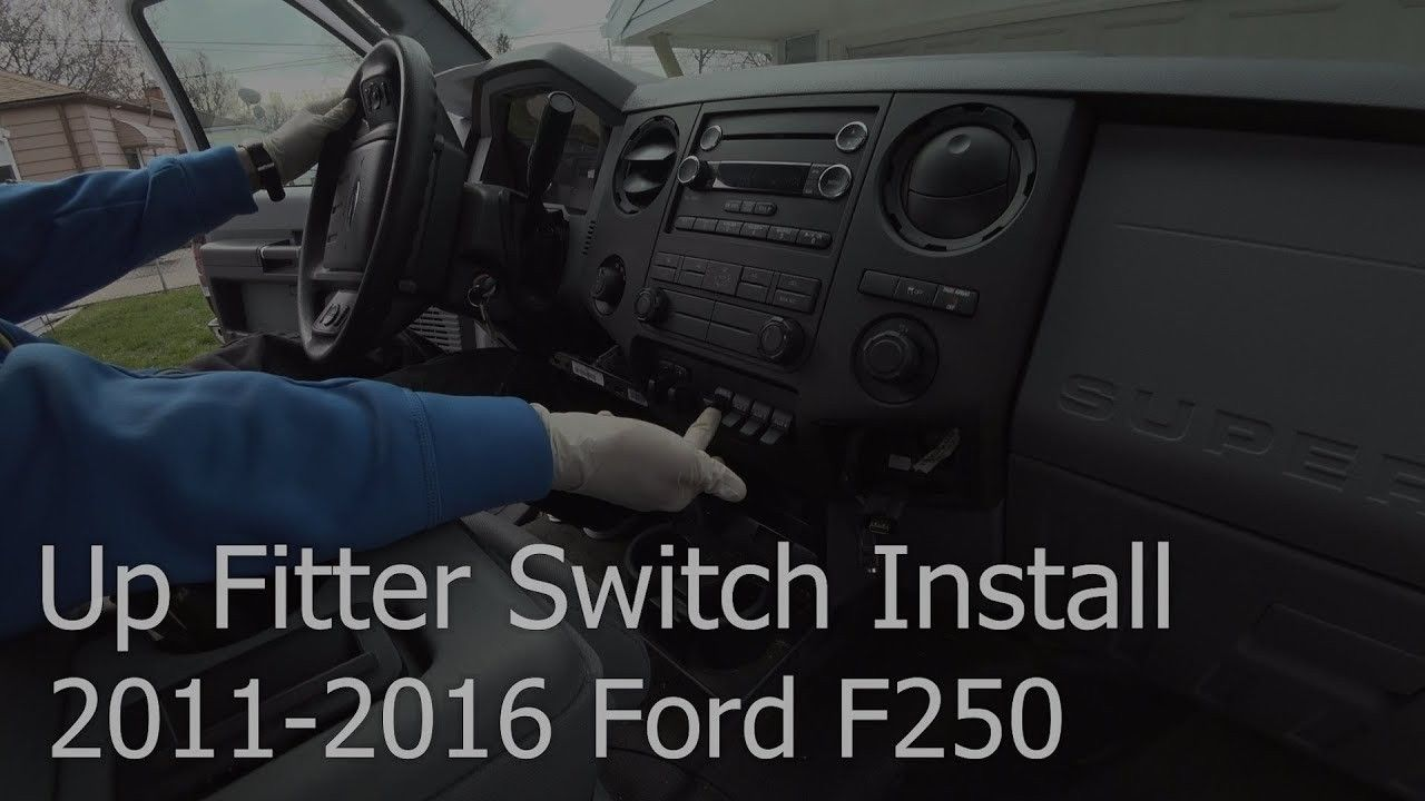 2011 Ford F250 Upfitter Wiring In 2020 Ford F250 Ford Ford Super Duty