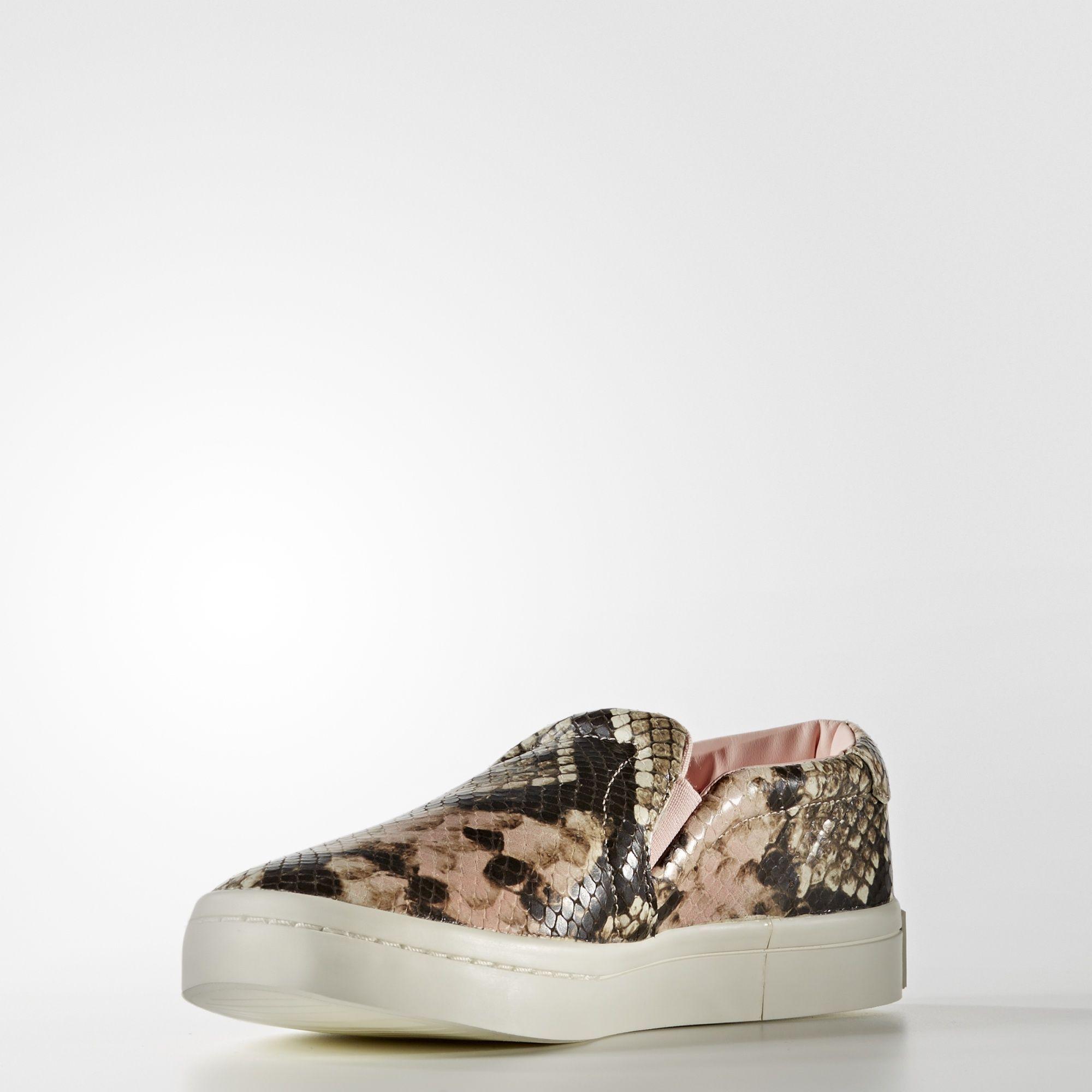 7c469be01d2 adidas - Court Vantage Slip-on Shoes