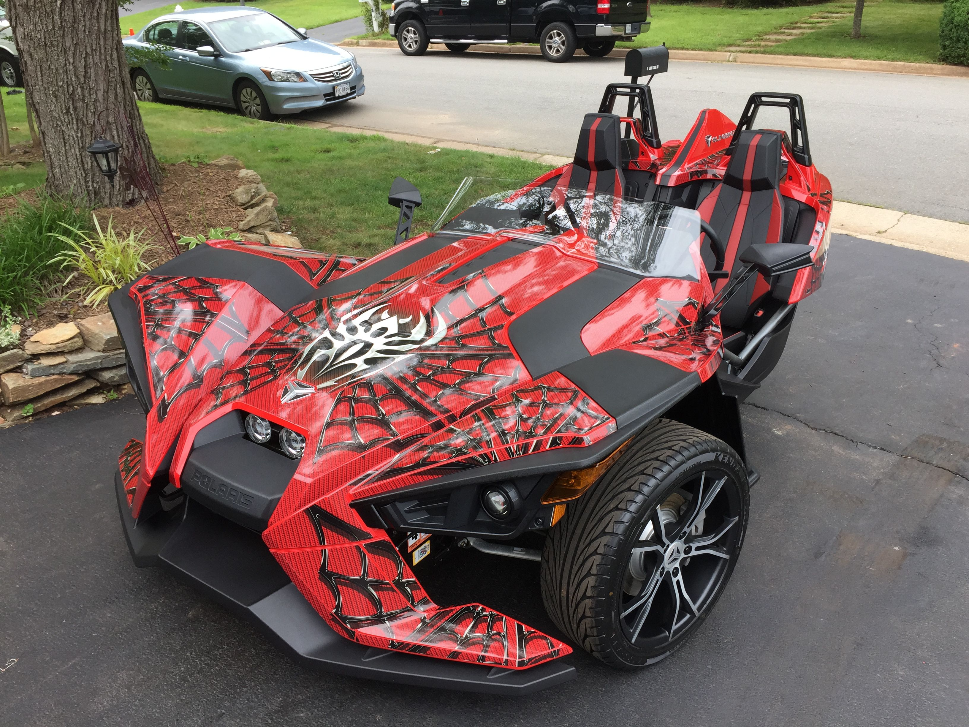New spider look for my scoot polaris slingshot forum