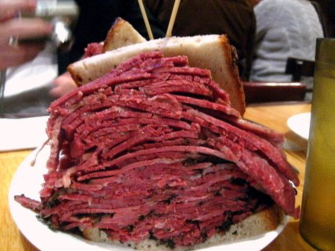 Carnegie Deli The Woody Allen Sandwich Corned Beef And Pastrami Some Things You Just Never Forget