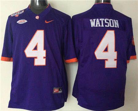 deshaun watson clemson jersey for sale