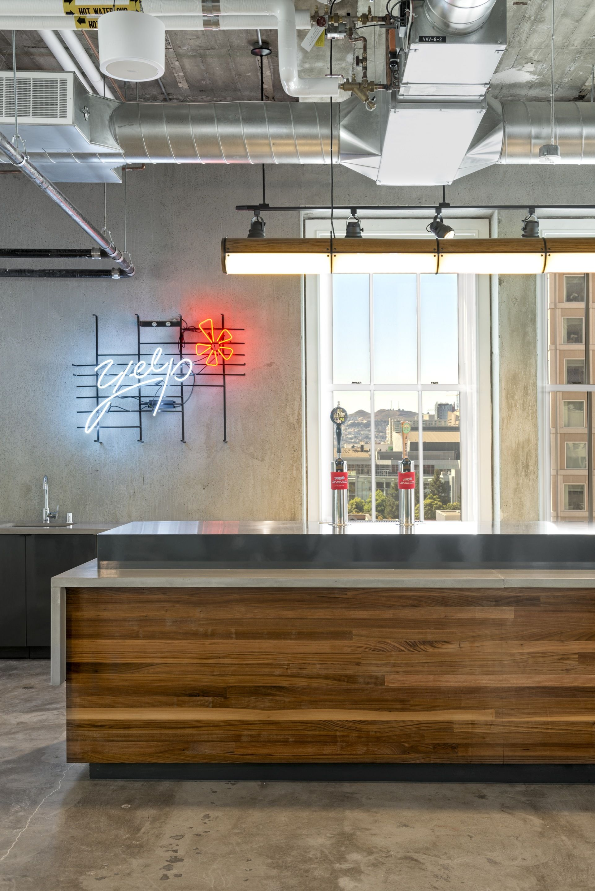cisco office san francisco. Exposed Brick Walls \u0026 Concrete Define The New Yelp Headquarters By Studio O+A Cisco Office San Francisco