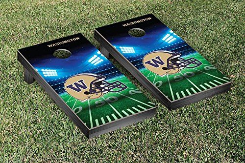 Washington Huskies Cornhole Game Set Stadium Version *** Check this awesome product by going to the link at the image.
