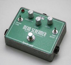 Mean Screamer Overdrive Pedal | Guitar Pedals | Guitar