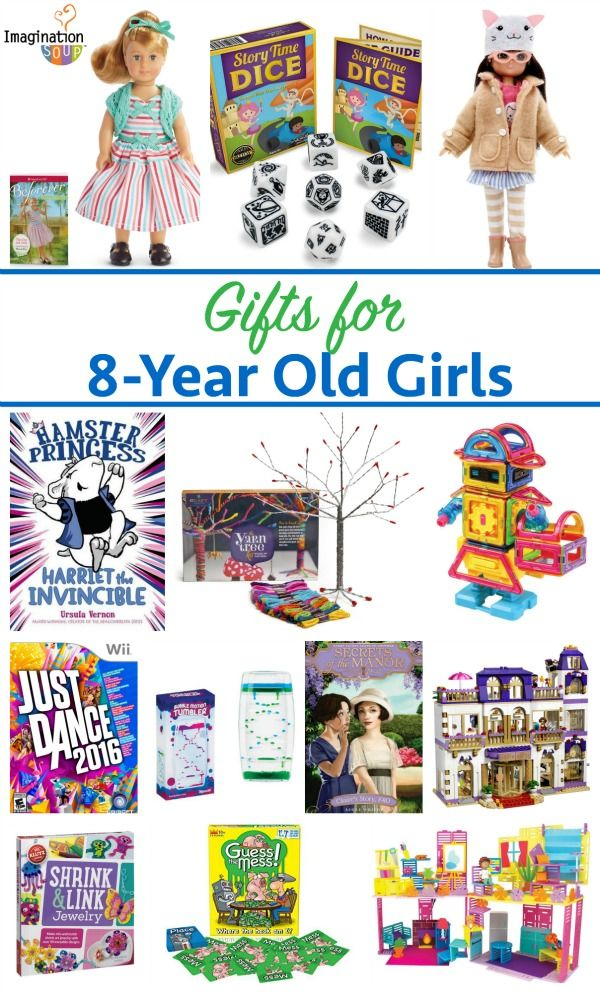 Gifts for 8-Year Old Girls | Holidays, Gift and Girls