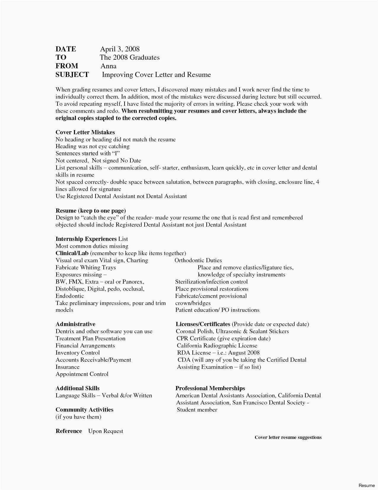 Best Refrence New Example Job Internship Cover Letter By Httpwaldwert Visit Details Http Ht Dental Assistant Cover Letter Lettering Cover Letter For Resume