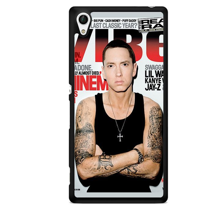 Eminem Cool Photo Cover Sony Phonecase For Sony Xperia Z1 Xperia Z2 Xperia Z3 Xperia Z4