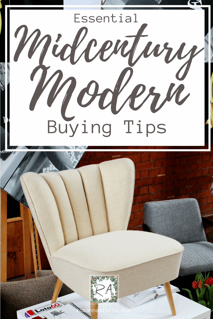 Essential Midcentury Modern Buying Tips | Retro furniture ...