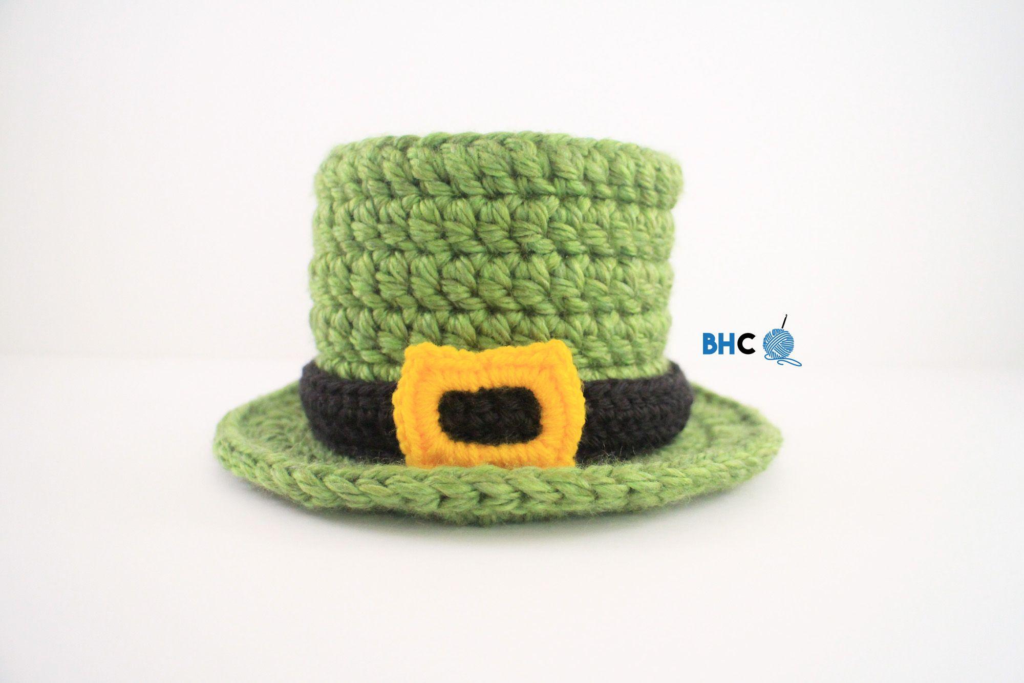 Lucky Crochet Top Hat - Free Pattern | Bebe