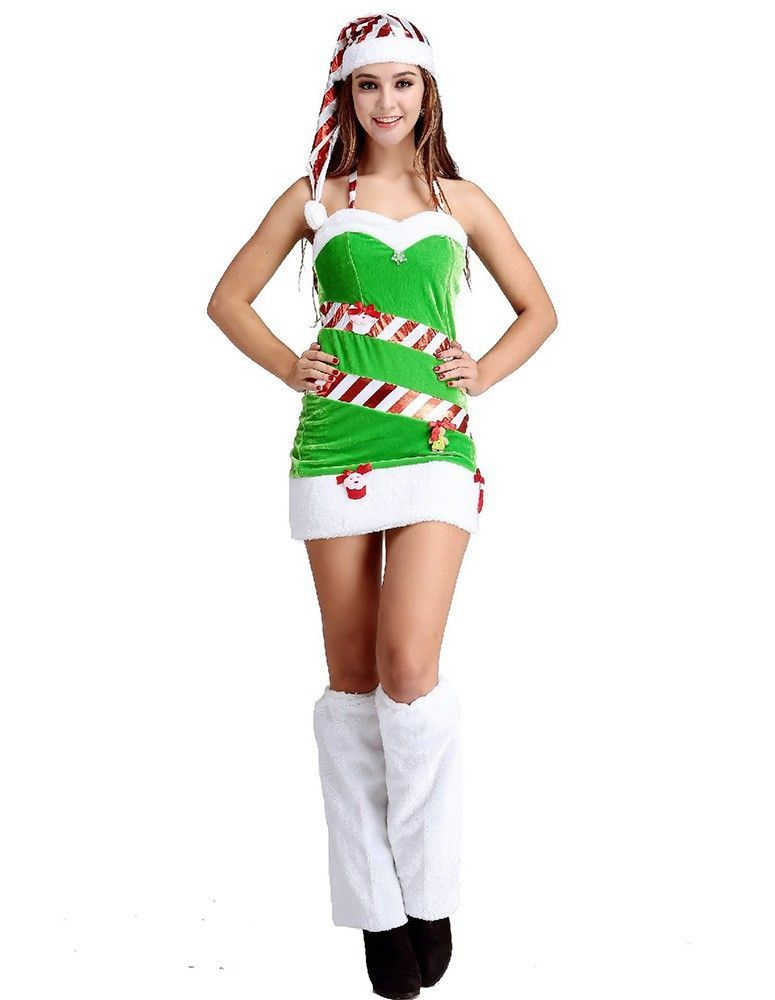 Green Funny Christmas Candy Tree Fancy Dress Costume  sc 1 st  Pinterest & Green Funny Christmas Candy Tree Fancy Dress Costume | Candy trees ...