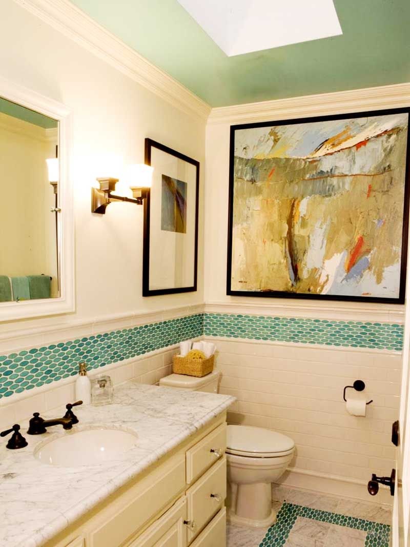 35 Bathroom Wall Decor Ideas | Color highlights, Bathroom wall decor ...