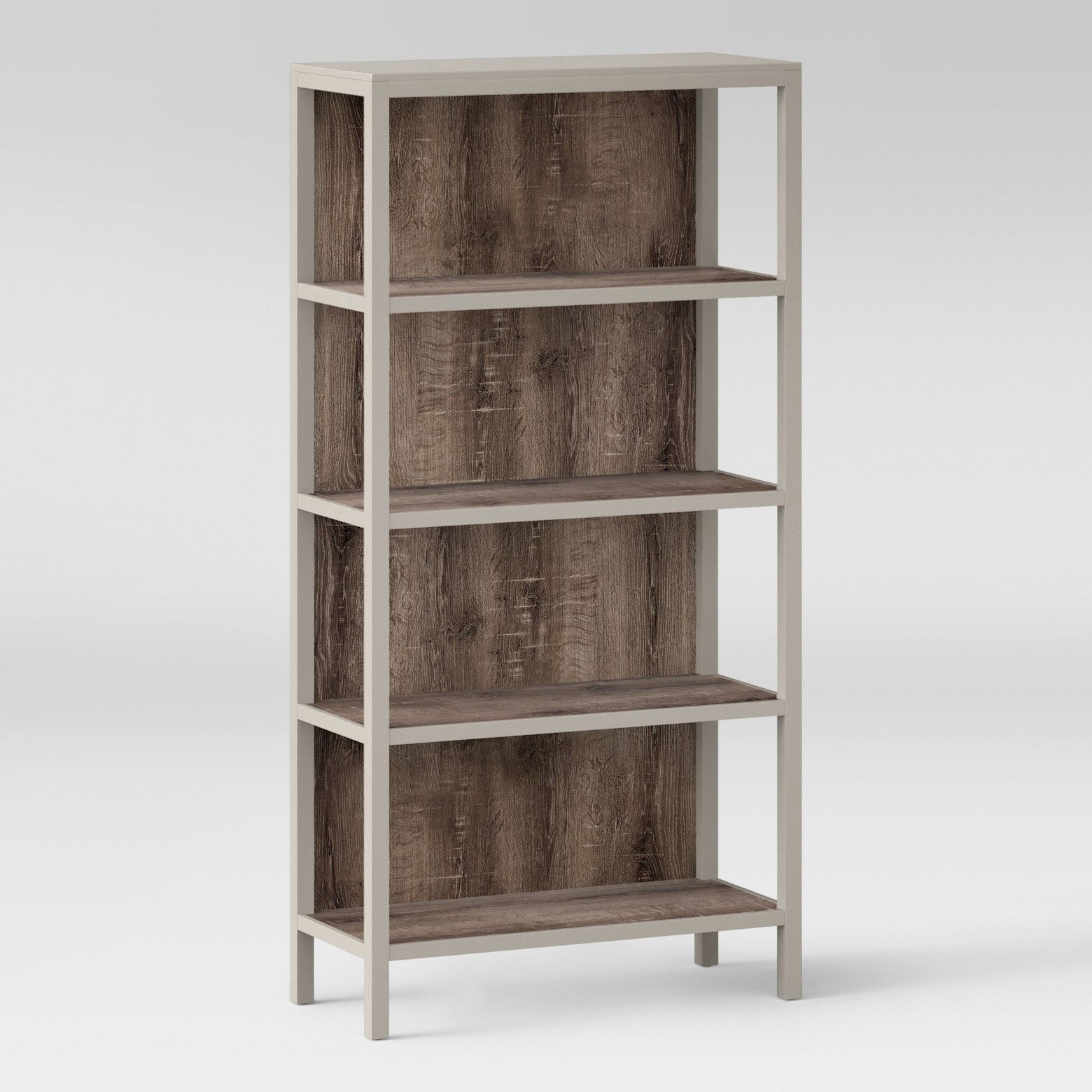 with steam beach pasir furinno p door four shelf beech bookcase bookcases