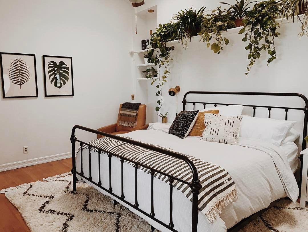 Elle decor master bedroom   Likes  Comments  Katie Branch branchabode on Instagram