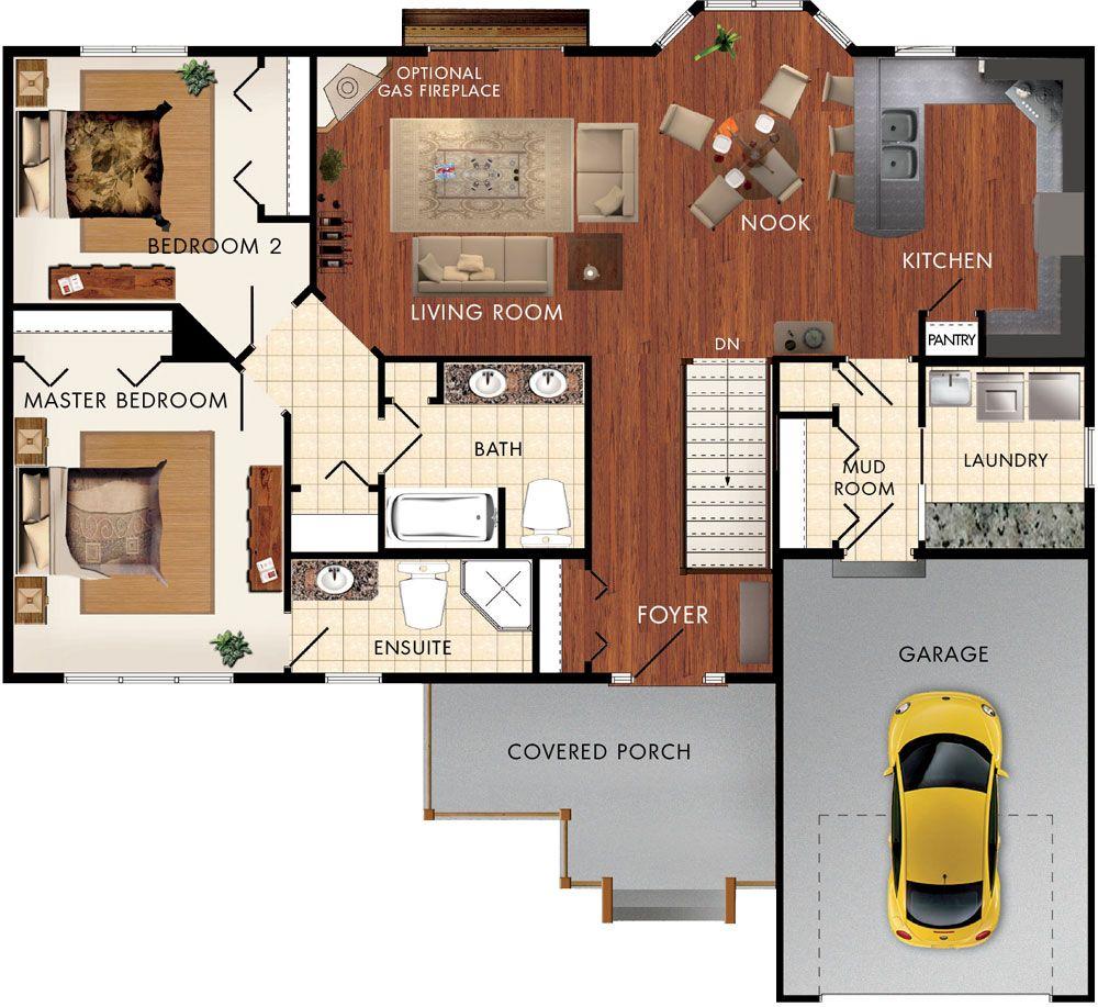 Braemore floor plan hausdetailansicht haus bauen for Haus bauen plan