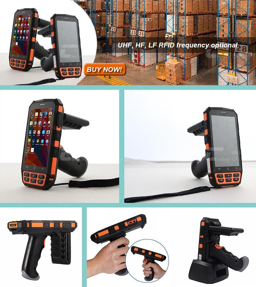 Handheld UHF RFID Reader (Android) Model No : CXJ-RRW004