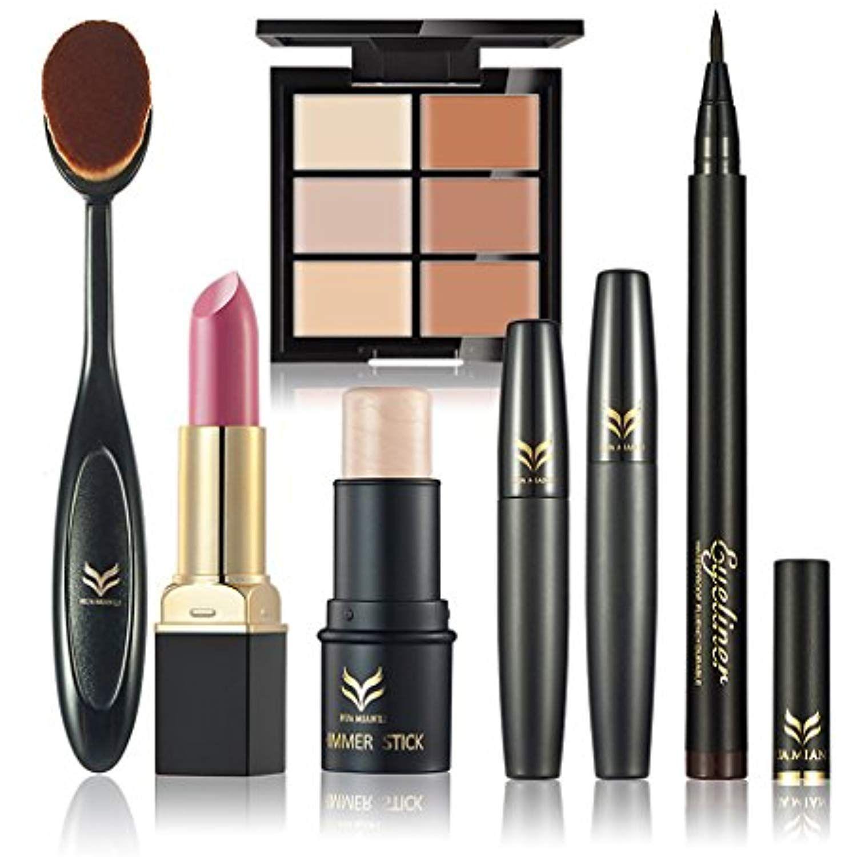 FantasyDay 6Pcs Pro Makeup Gift Set Essentials Starter