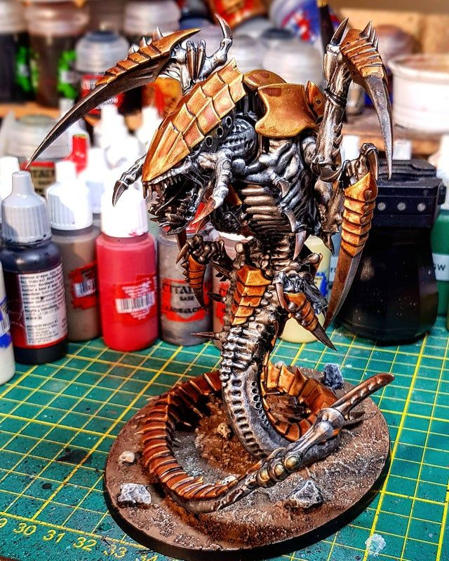 Trygon of my Golden Bugs Tyranids in 2020 Tyranids