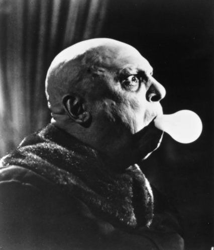 "Jackie Coogan (October 26, 1914 - March 1, 1984) as Uncle Fester Frump in ""The Addams Family '(TV Series)"", 1964 #still #actor"
