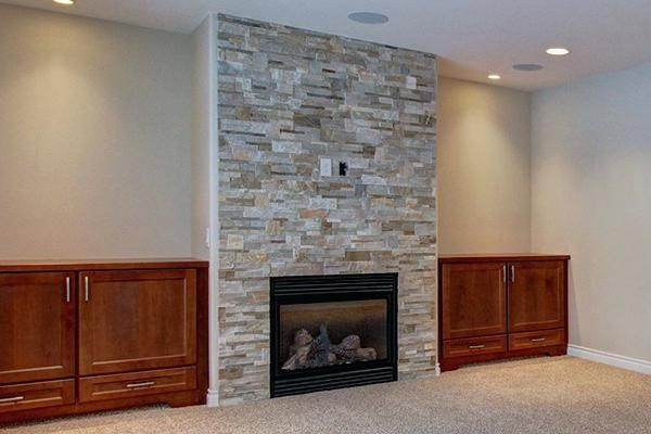 Luxury Ideas Fireplace Without Mantle Magnificent Tile To Mantel Surround  Lowes New Home