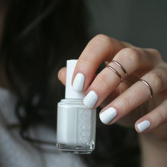 Classics  Essie Blanc Essie Envy Nails Pinterest