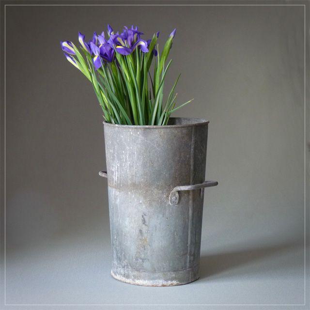 Vintage Flower Bucket - Vintage garden