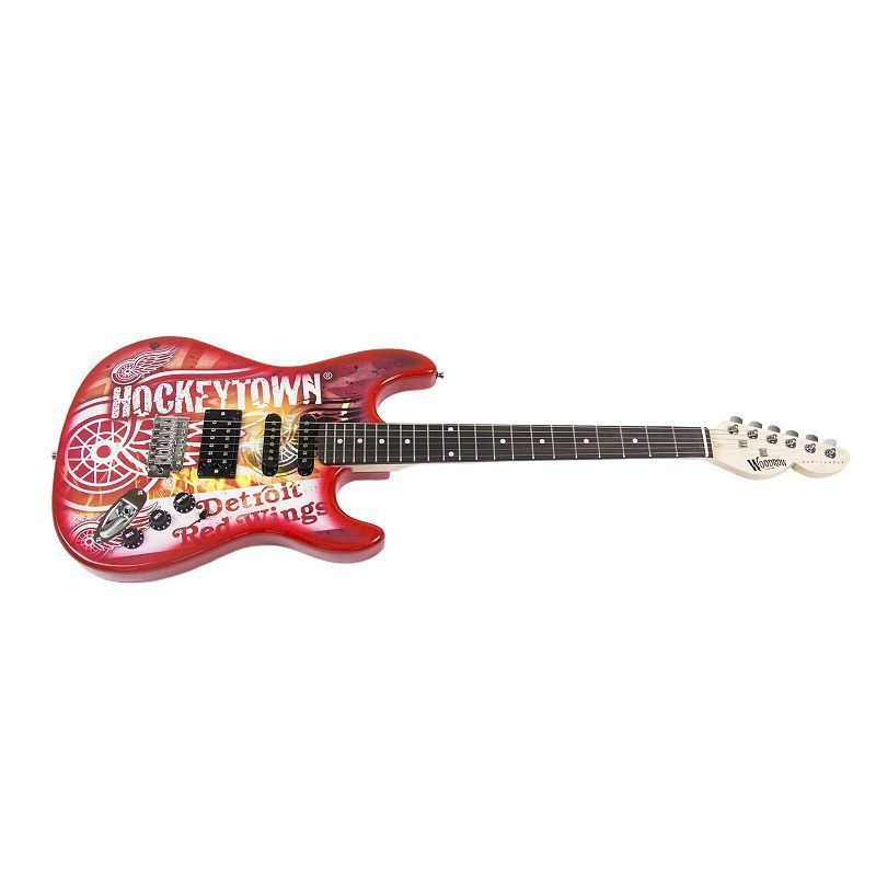 Woodrow Detroit Red Wings Northender Electric Guitar Foto