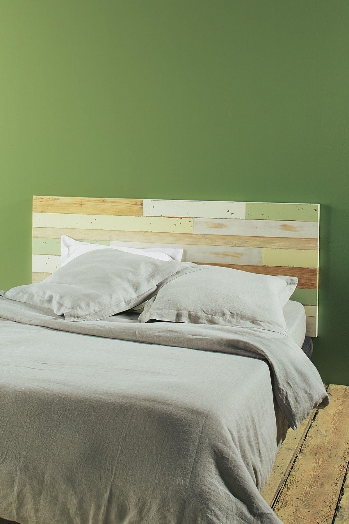 Fabriquer Tete De Lit Planche Bois fabriquer une tete de lit en bois flotte : tete de lit en