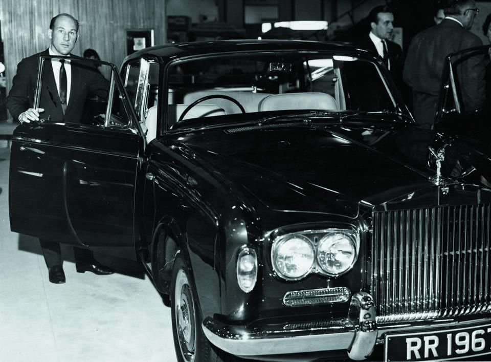 Rolls Royce Silver Shadow, Motor Show, 1967