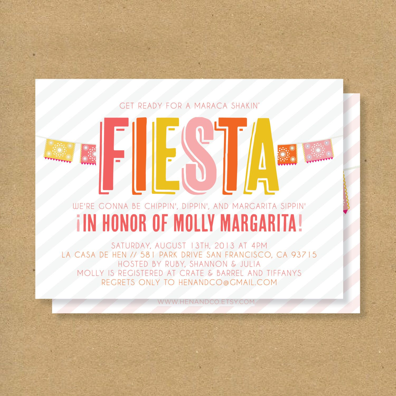 fiesta invitation printable mexican flags u0026 stripes fiesta birthday fiesta baby shower fiesta bridal shower