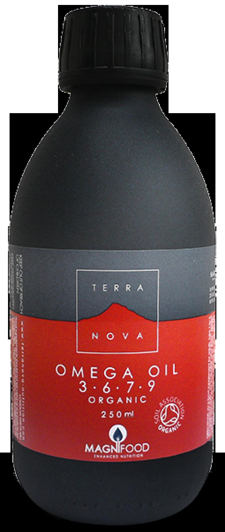 Terranova Omega Oil 3-6-7-9 Το Μόνο 100% Φυτικό, Βιολογικής Καλλιέργειας με Ω7, Χωρίς Ιχθυέλαια 50ml. Μάθετε περισσότερα ΕΔΩ: https://www.pharm24.gr/index.php?main_page=product_info&products_id=10791