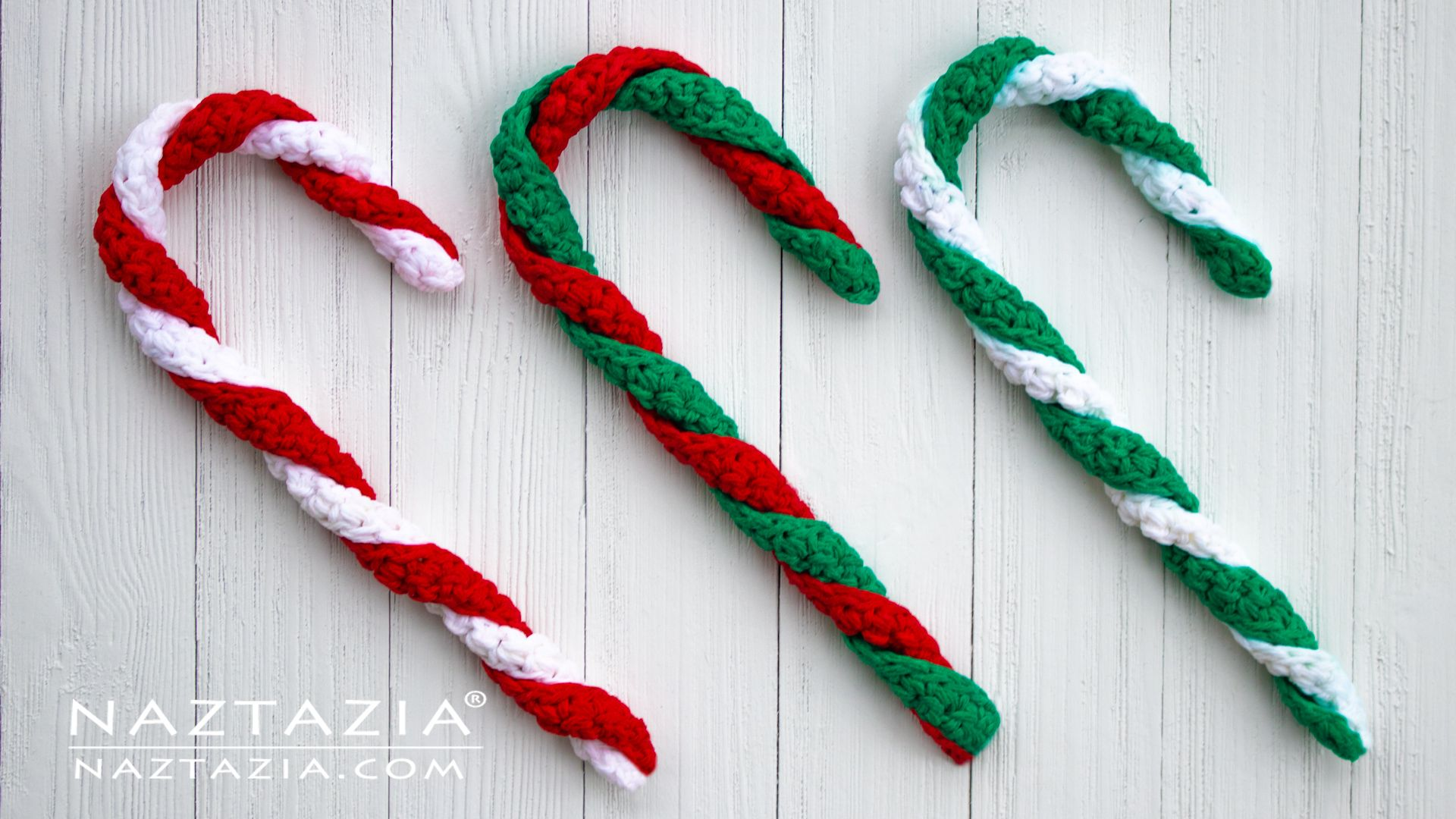 How To Crochet A Candy Cane