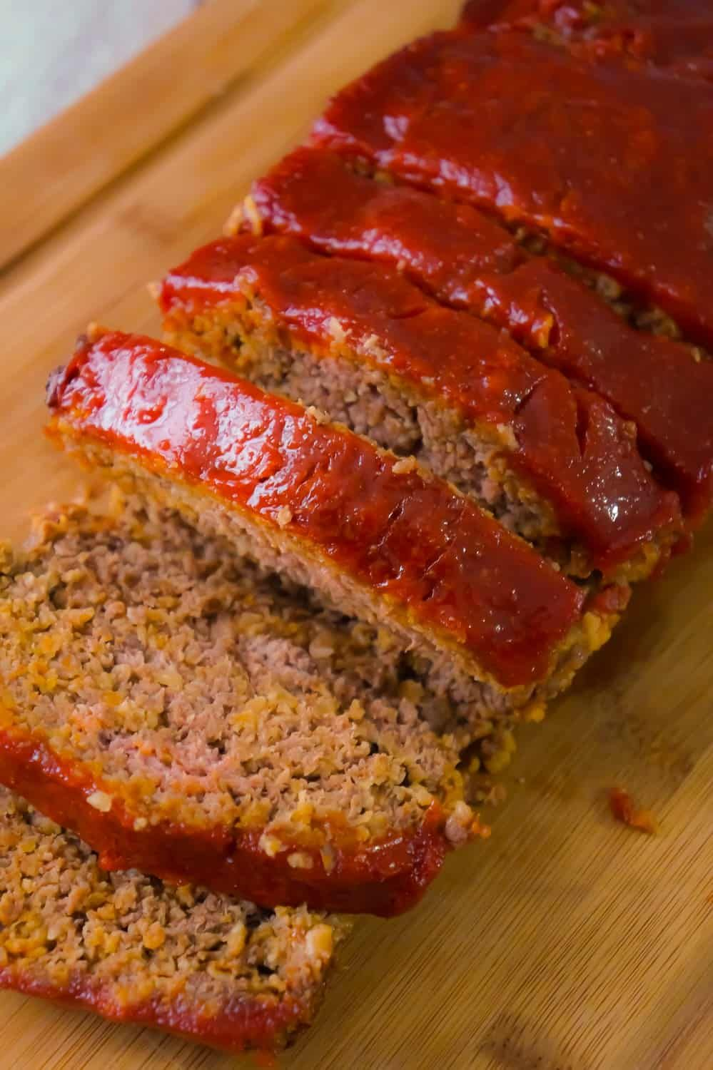 Meatloaf with Oatmeal is an easy ground beef dinner recipe
