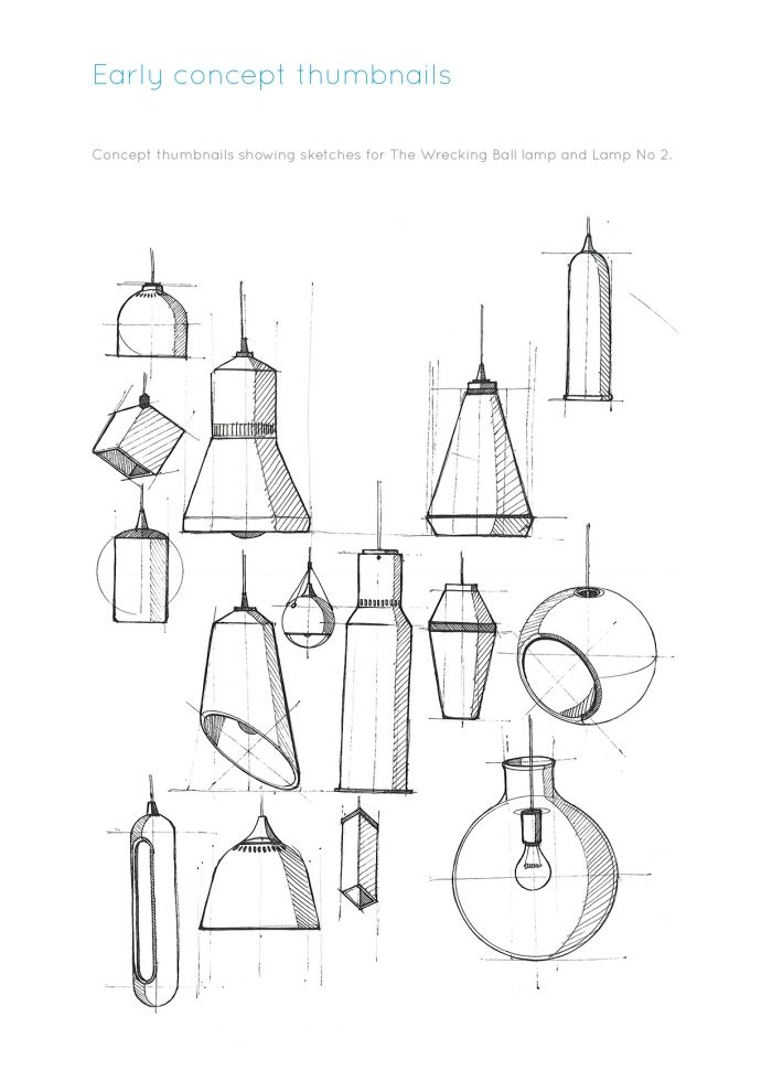 Lamp No 2 By Andrew Mitchell At Coroflot Com Interior Design Drawings Furniture Design Sketches Design Sketch