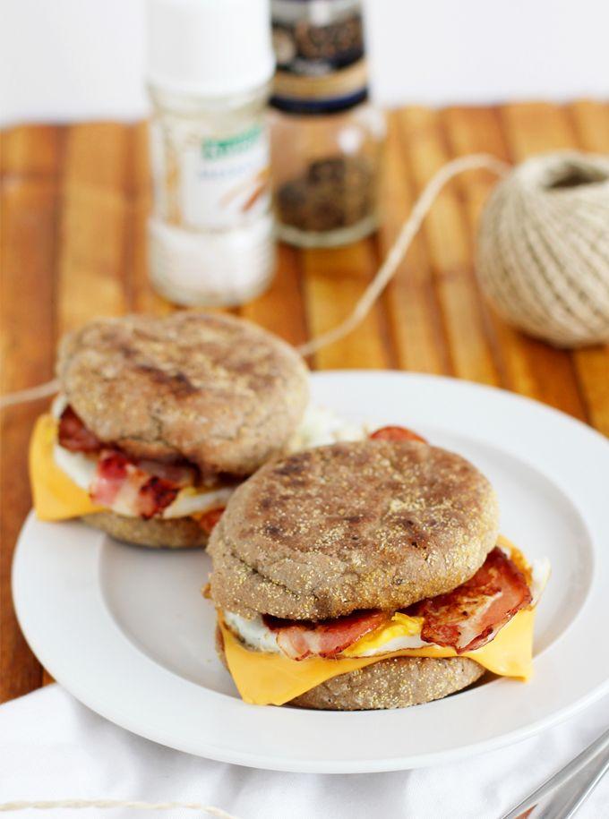 Frühstücken bei mc donalds