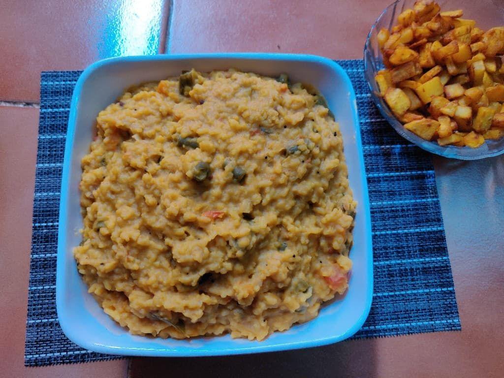 Sambar rice recipe   Sambar sadam   Easy Sambar sadam ...