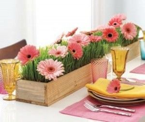 20 ADORABLE EASTER FLOWER ARRANGEMENT IDEAS Dining Table DecorationsTable