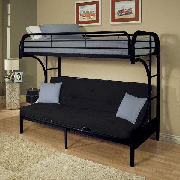 Twin/Full Futon Bunk Bed | Creativo | Pinterest | Litera, Camas y ...