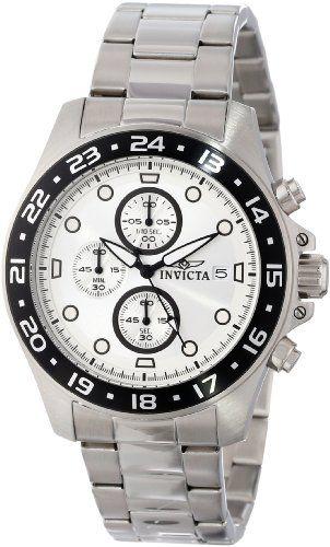 """Invicta Men's 15206 """"Pro-Diver"""" Stainless Steel and Black Bezel Bracelet Watch ** For more information, visit image link."""