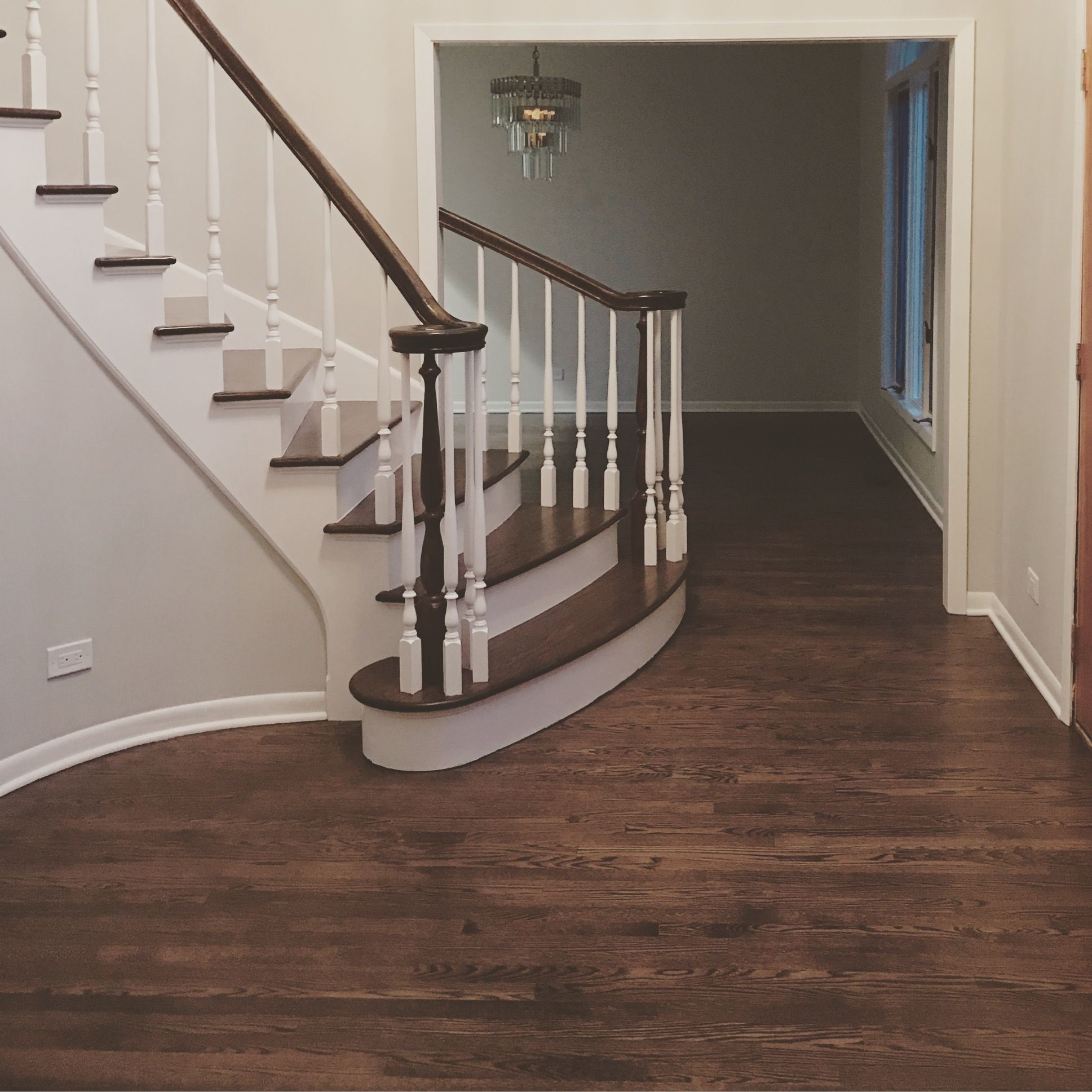 Best New Solid 2 1 4 Red Oak Hardwood Floors Refinished With 400 x 300
