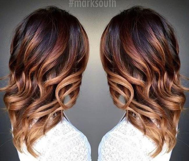 Populaire Ombre Hair Marron Caramel : La Grosse Tendance à Suivre  GY11
