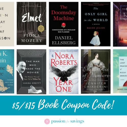 Amazon Books Coupon Code Save 5 Off Any 15 Purchase Amazon Books Books E Book