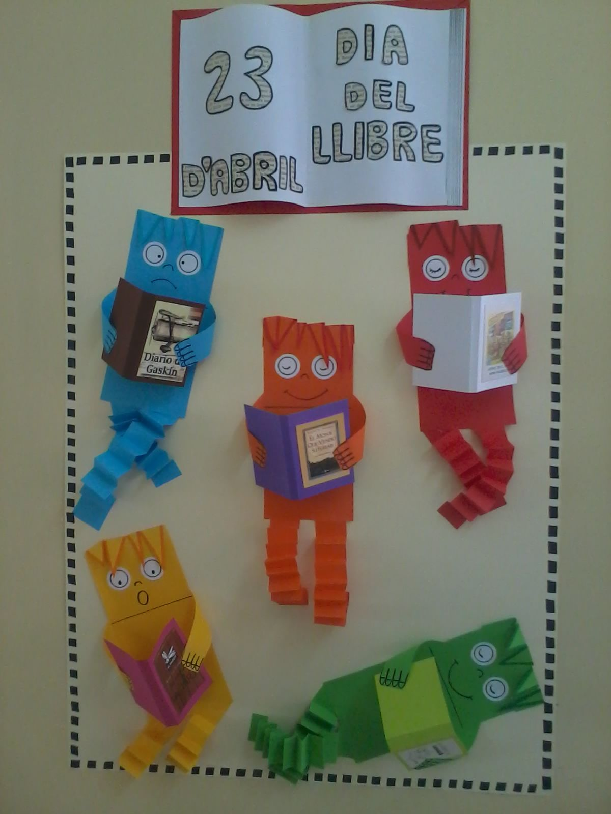 Resultado de imagen para cartelera escolar semana del for Libros de decoracion