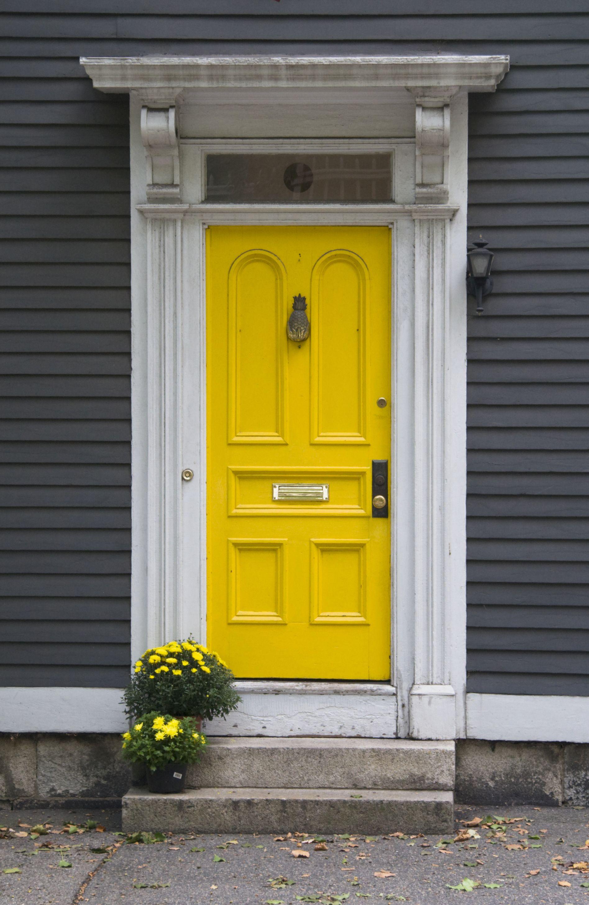 yellow door random goodness pinterest
