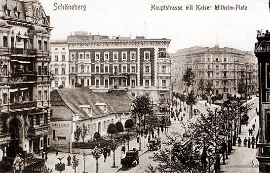 berlin sch neberg kaiser wilhelm platz um 1908 berlin ist blau pinterest sch neberg. Black Bedroom Furniture Sets. Home Design Ideas
