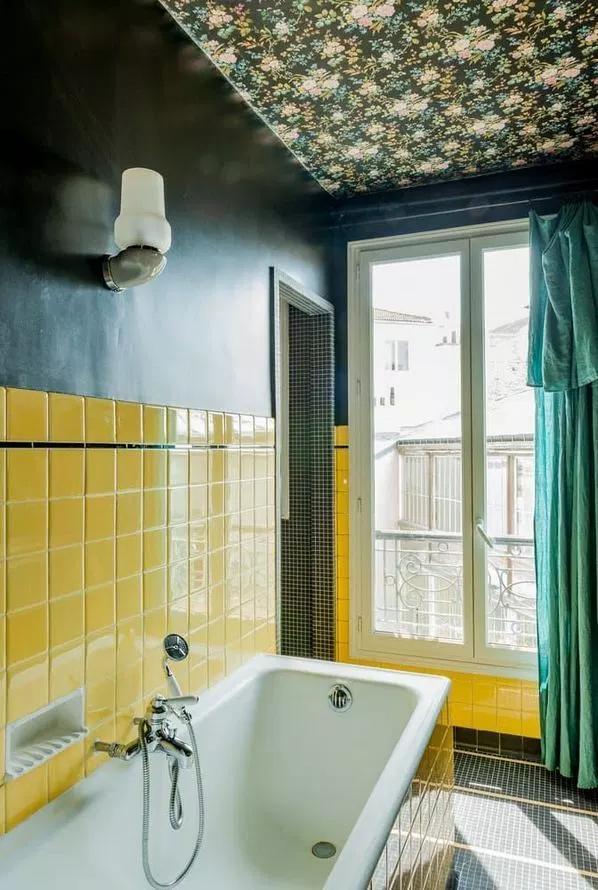 16 unusual modern bathroom design ideas  yellow bathroom